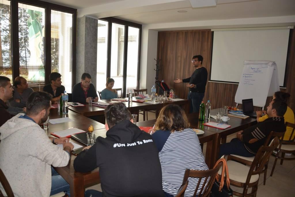 """Работен состанок на коалицијата """"Khetane"""""""