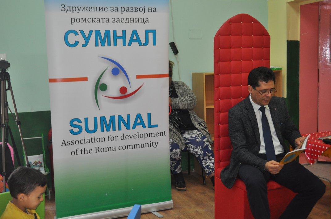 Министерот Аксел Ахмедовски во посета на Сумнал