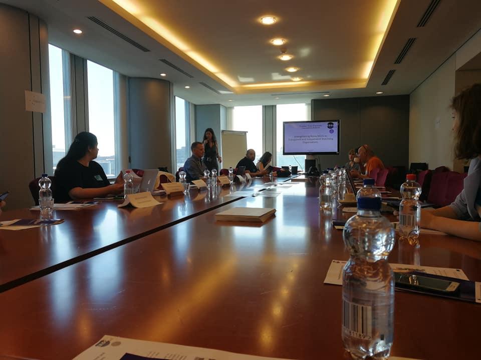 Khetane на тркалезна маса за транспарентност и отчетност на Ромските граѓански организации