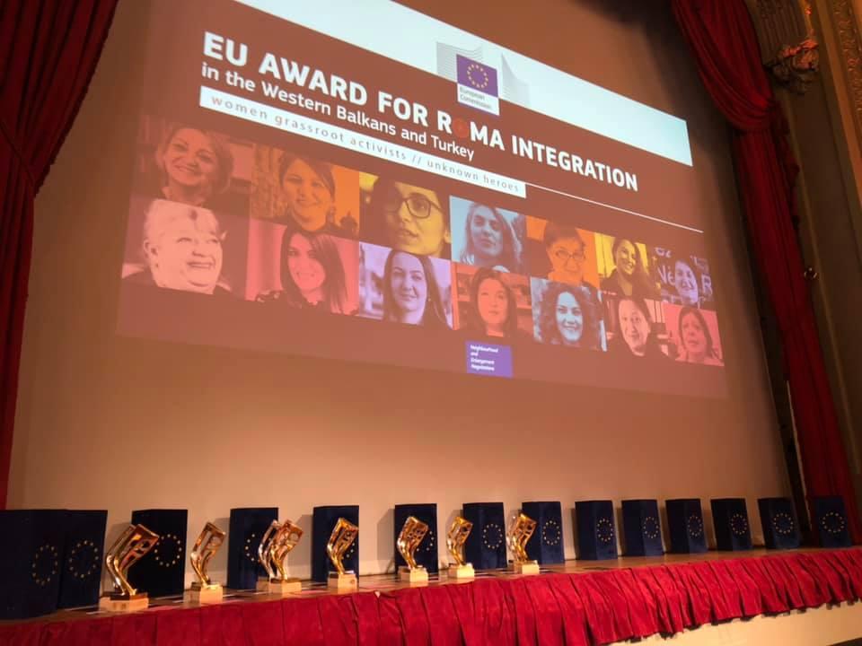 Прогласени победничките на ЕУ наградата за Ромска интеграција 2019 година