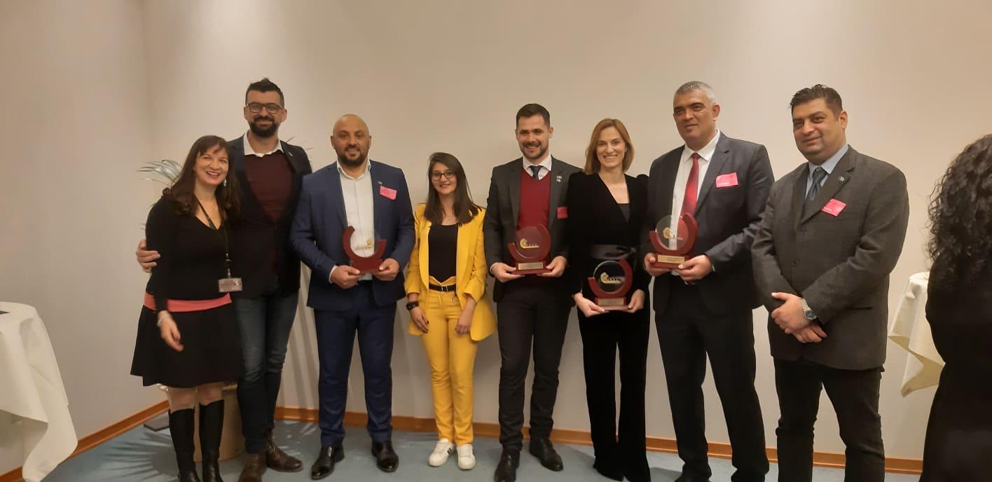 """Градоначалникот Дудуш во Брисел за наградата """"Најпријателски Ромски Градоначалник"""""""