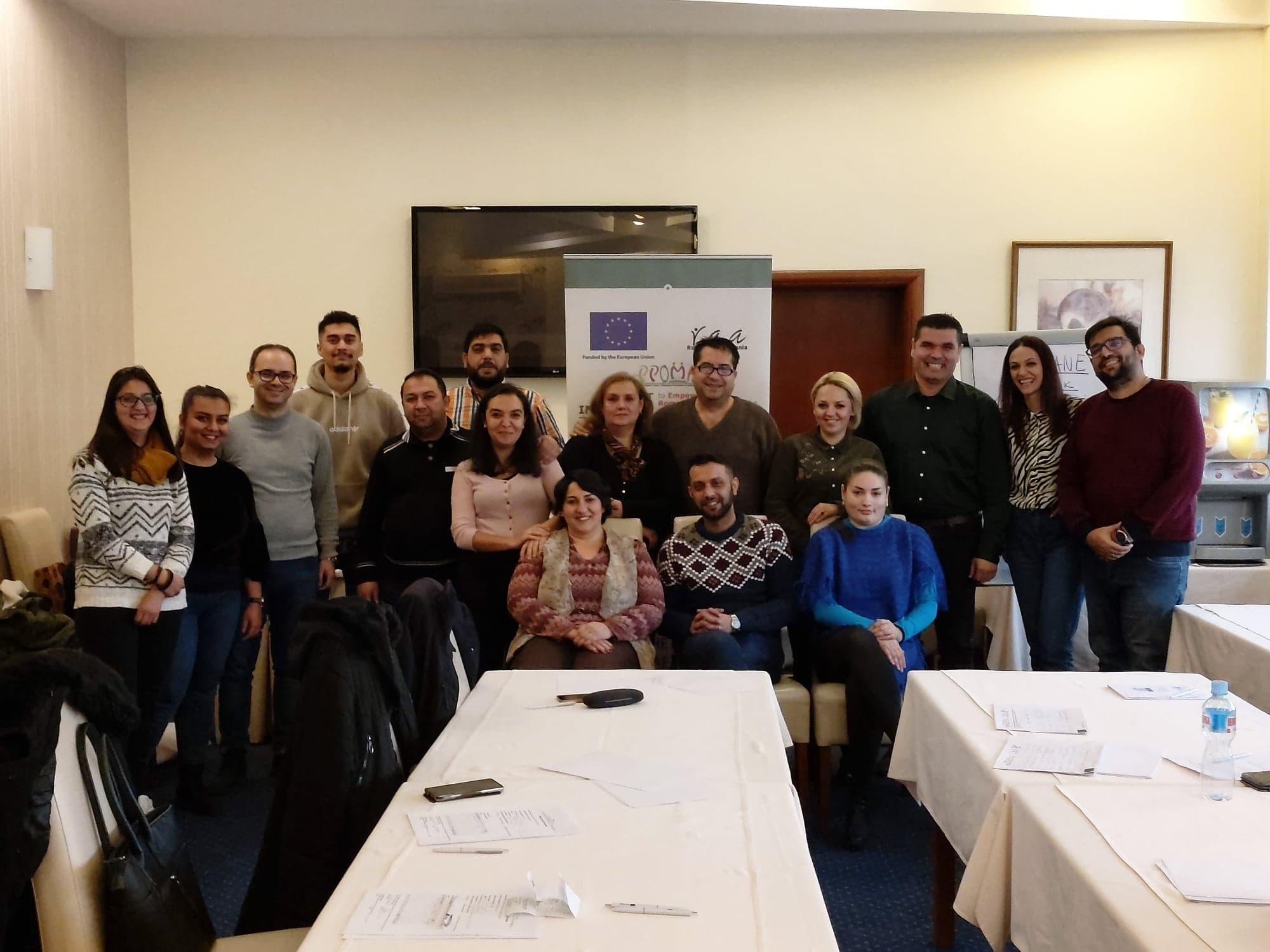 """Состанок за координација и евалуација на членките на коалицијата во рамките на проектот """" Заедничка иницијатива за зајакнување на Ромското граѓанско општество на западен Балкан и Турција"""""""
